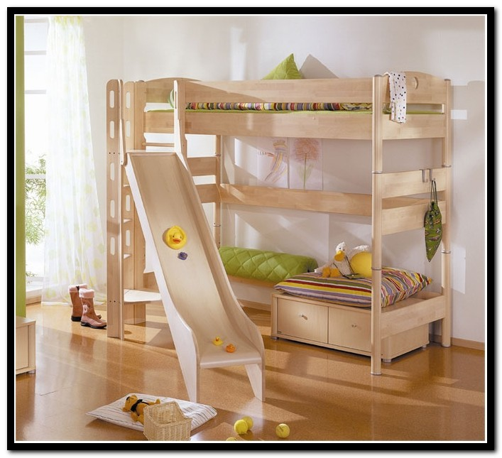 Childrens Loft Beds With Slide
