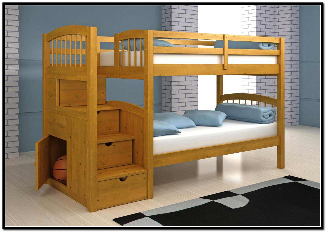 Childrens Loft Beds With Stairs