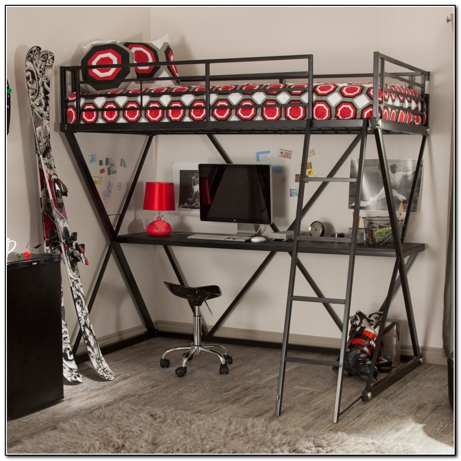 Cool Loft Beds With Desk