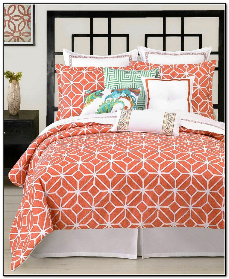 Coral Colored Bedding Sets