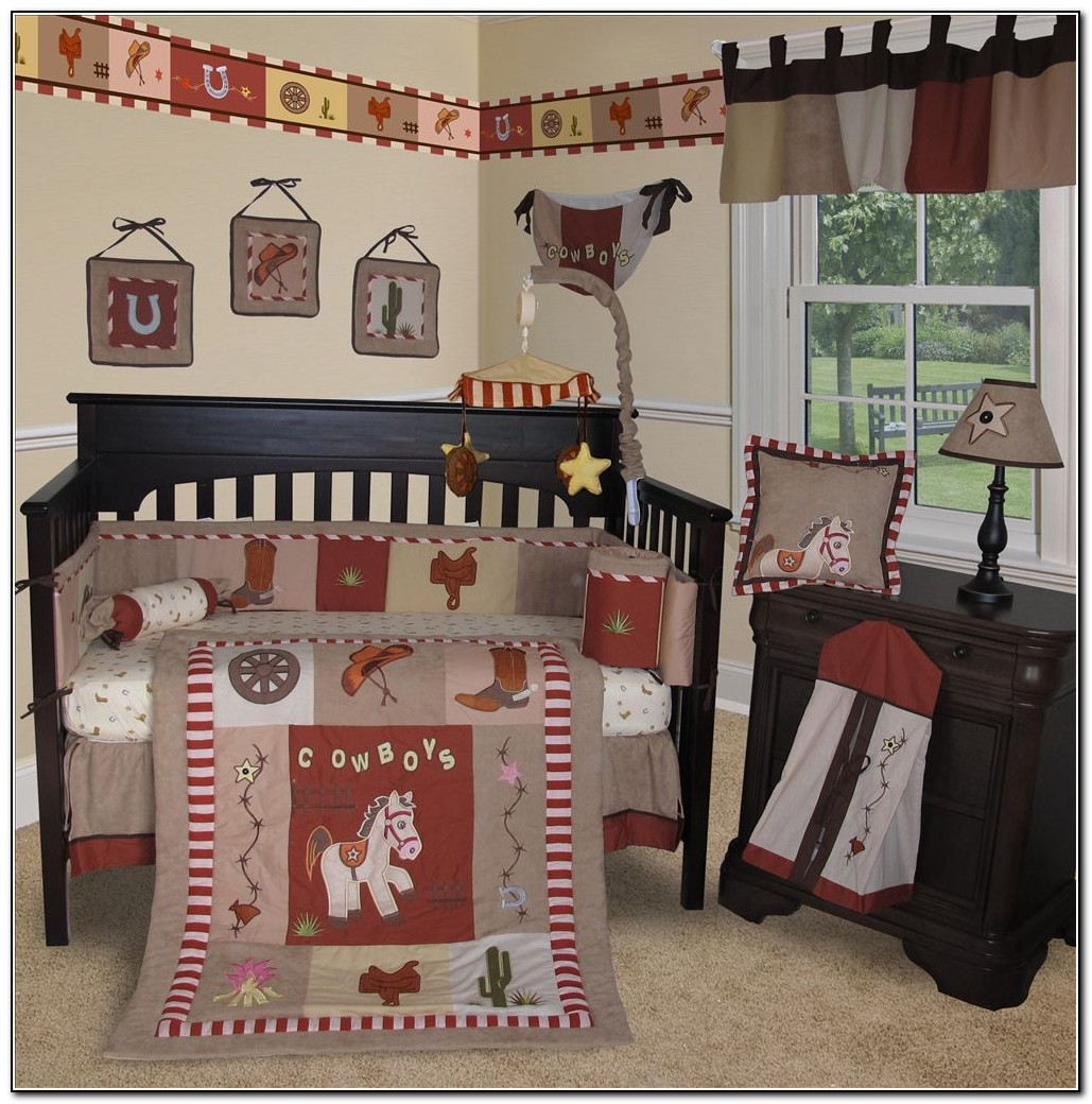 Country Western Baby Bedding
