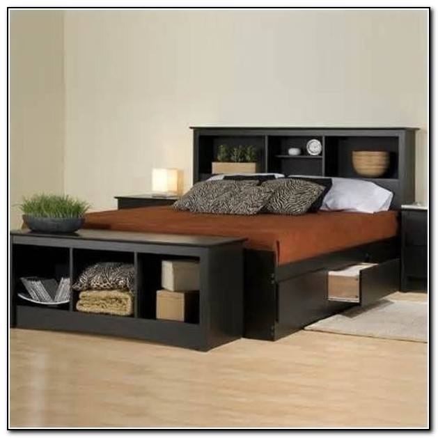 Diy Platform Bed Frame With Drawers