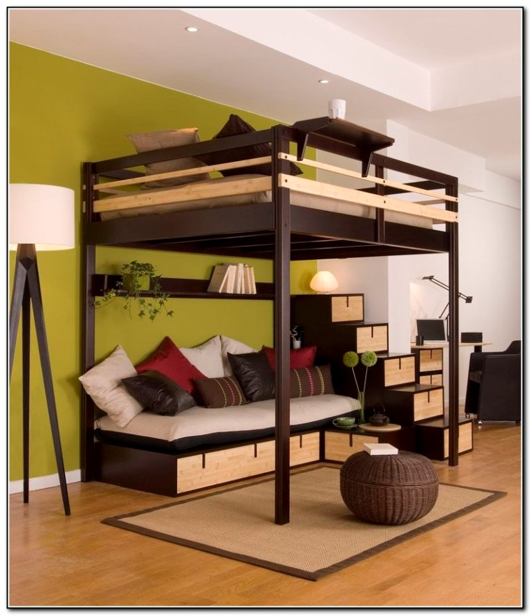 Double Loft Bed Canada
