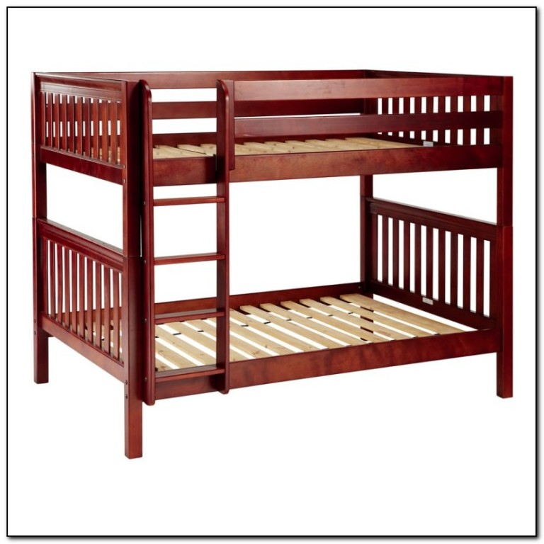 Full Over Full Bunk Bed Frame