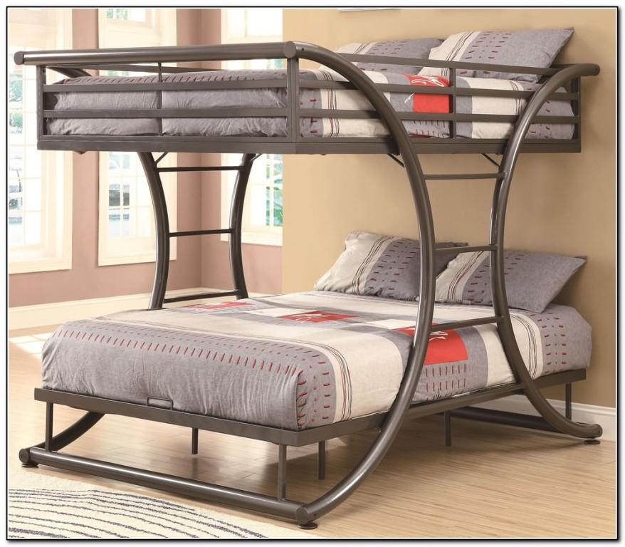 Full Over Full Bunk Bed Metal