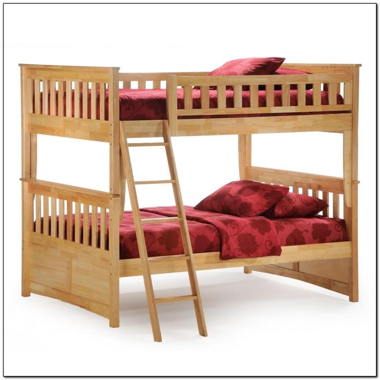 Full Over Full Bunk Bed Plans