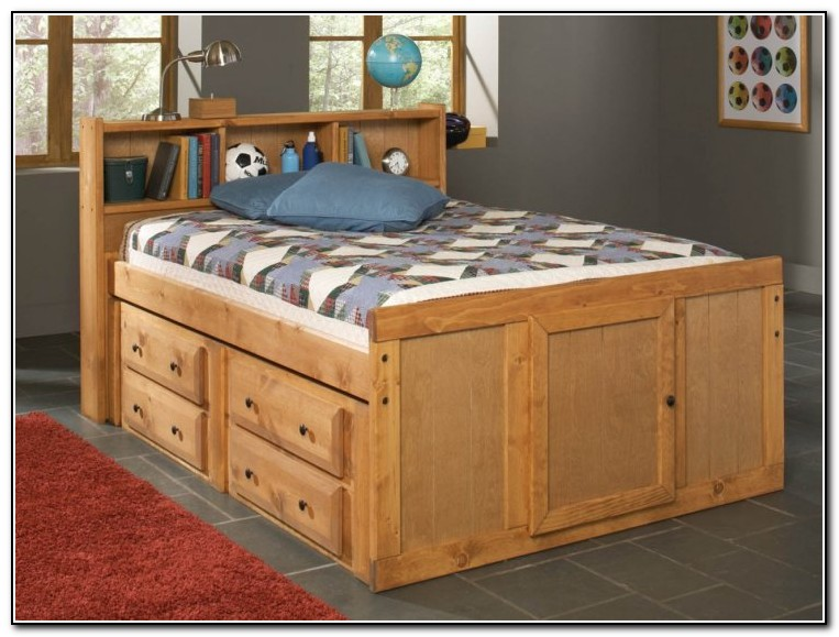 Full Size Bed With Storage Ikea