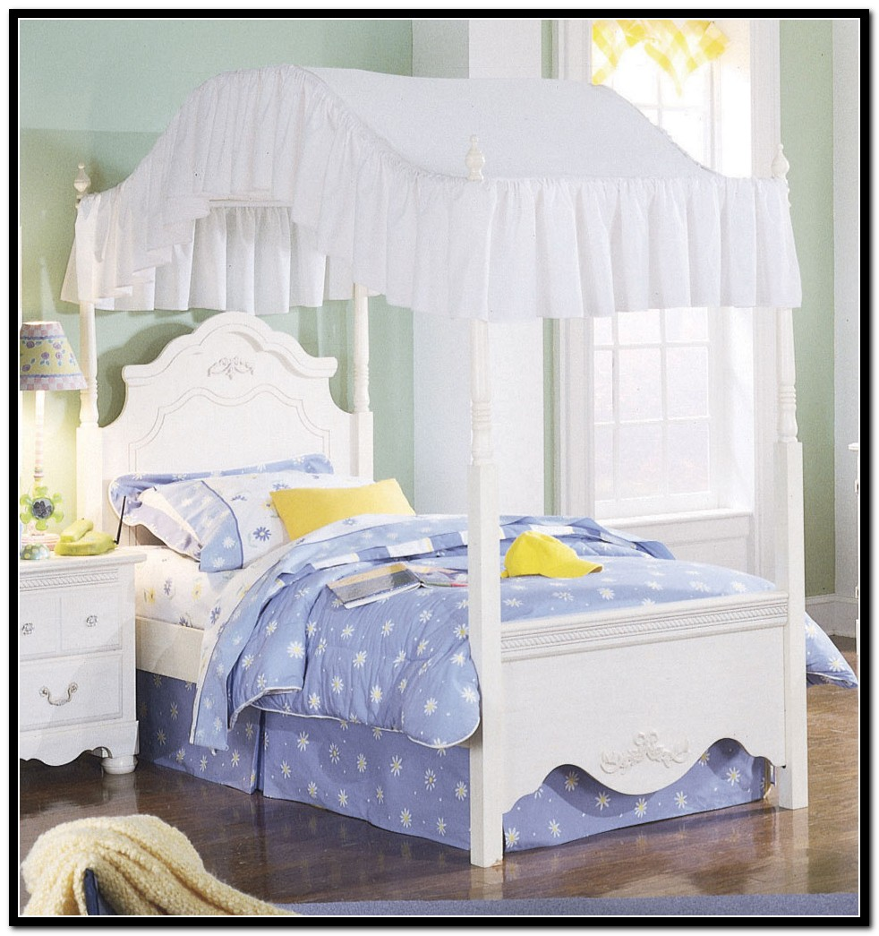 Full Size Canopy Bed Bedding