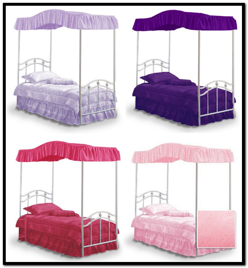 Full Size Canopy Bed Top