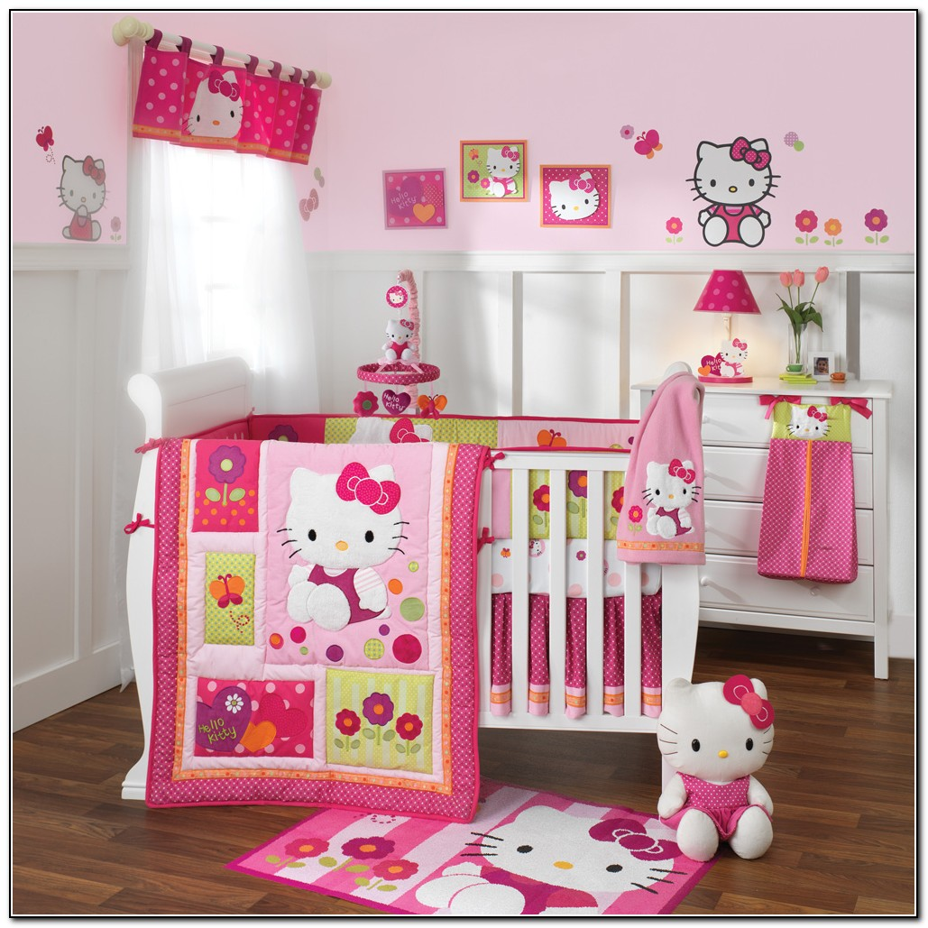 Girl Baby Bedding Crib Sets