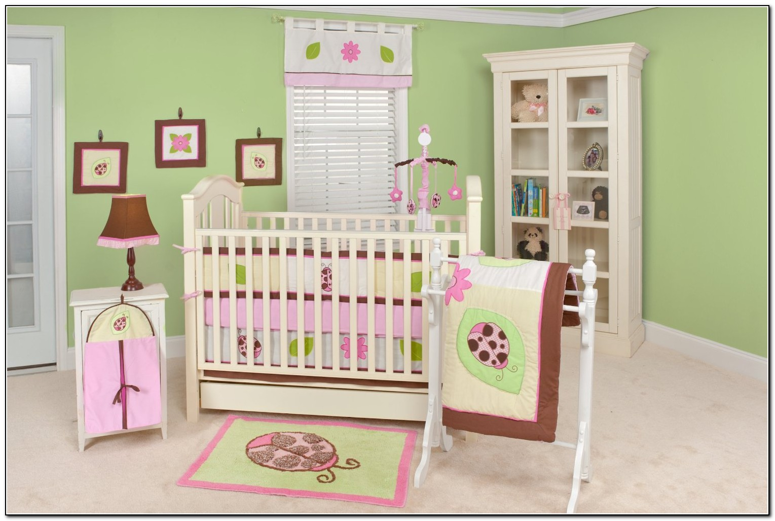 Girl Baby Bedding Crib
