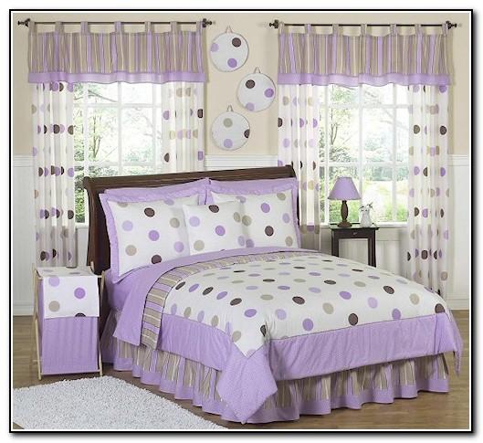 Girls Bedding Sets Twin Purple