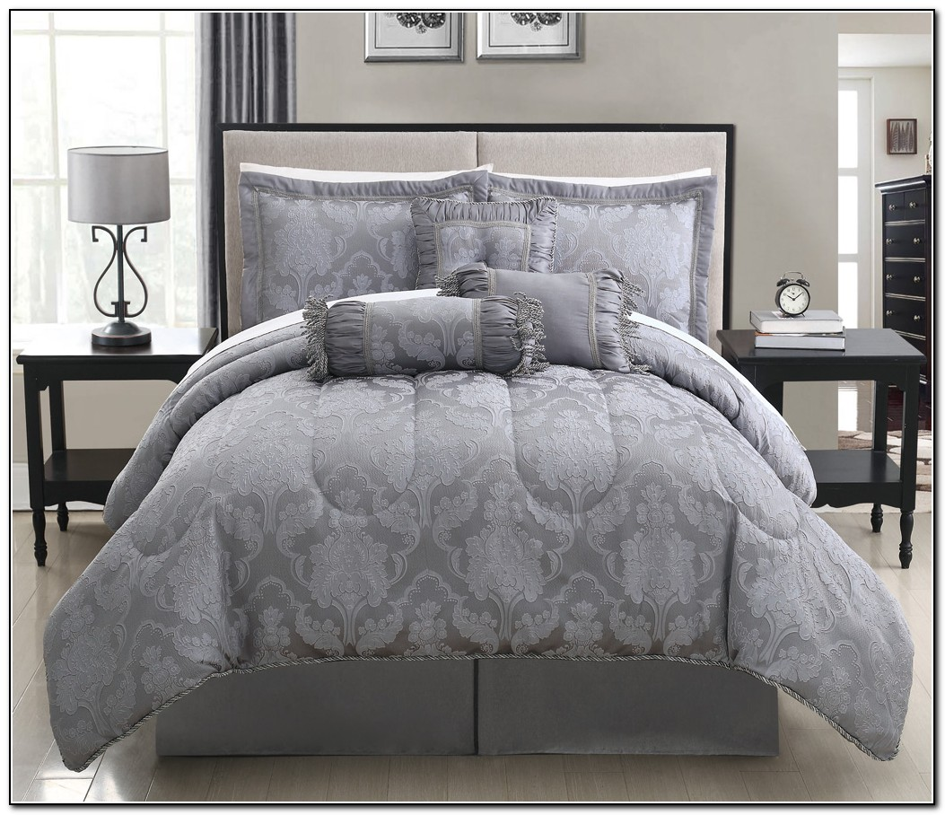 Gray Bedding Sets Full