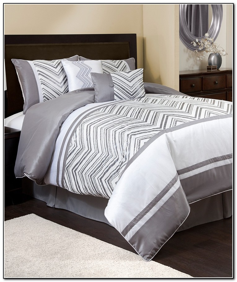 Gray Bedding Sets Queen