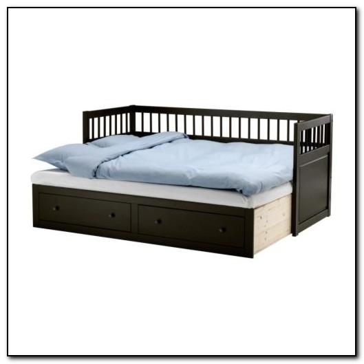 Hemnes Bed Frame Grey Brown