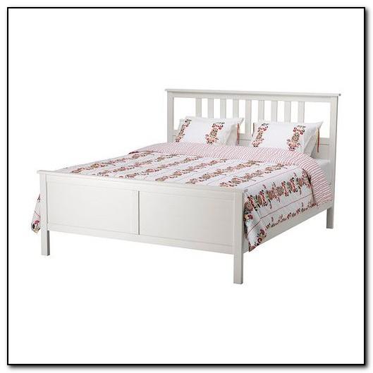 Hemnes Bed Frame White Stain