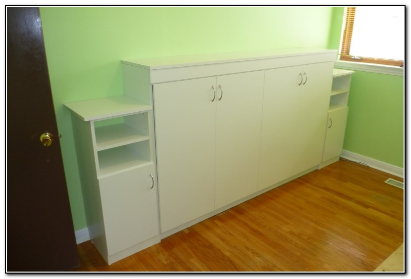 Horizontal Murphy Bed Full