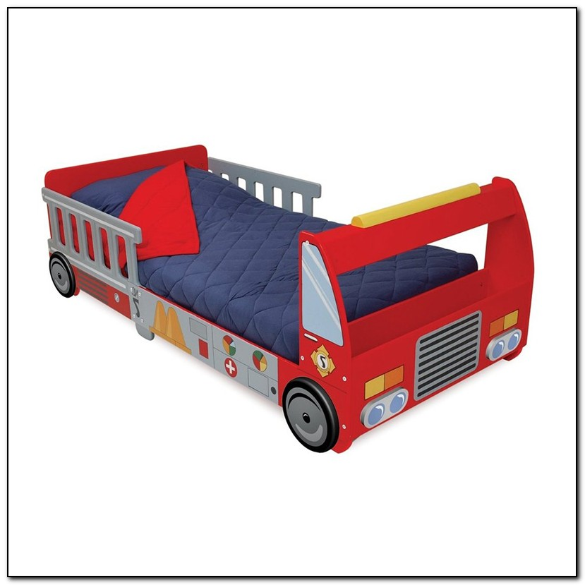 Kidkraft Toddler Bed Fire Truck