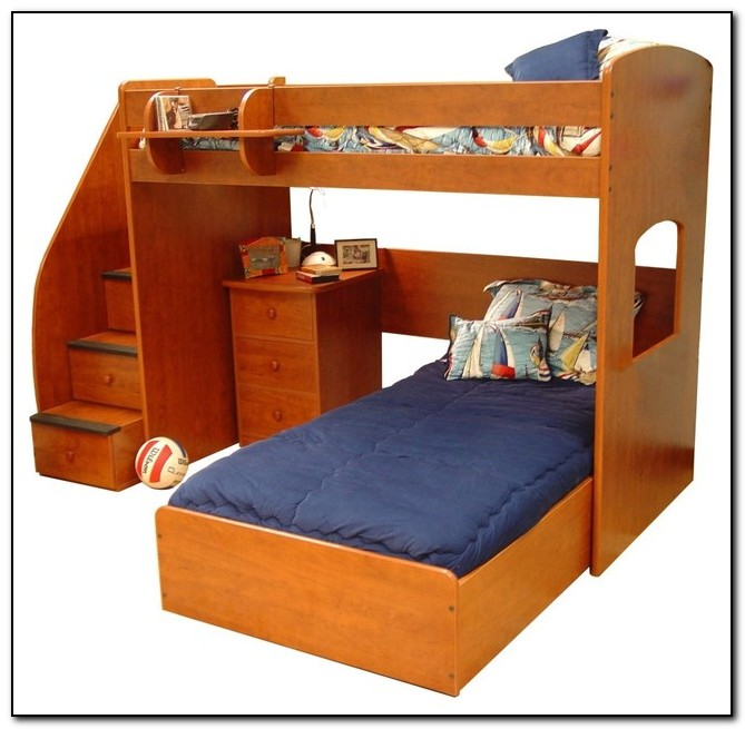 Kids Beds With Storage Drawers Underneath