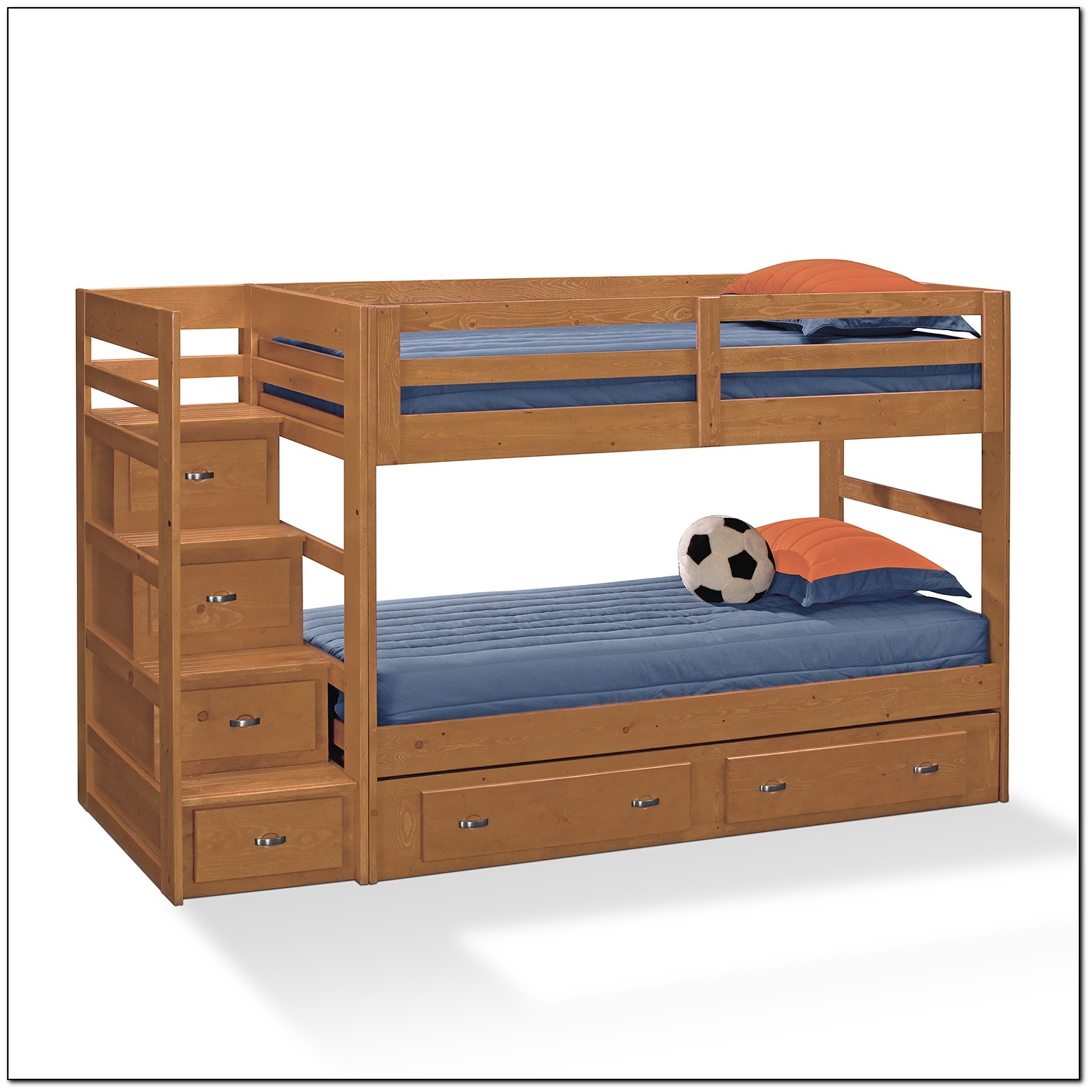 Kids Bunk Beds With Stairs And Storage