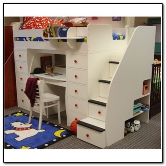 Kids Bunk Beds With Stairs Australia