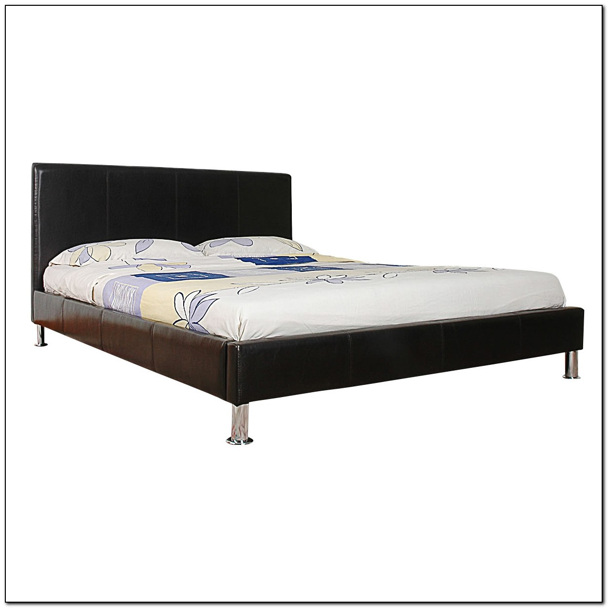 Leather Bed Frame Double