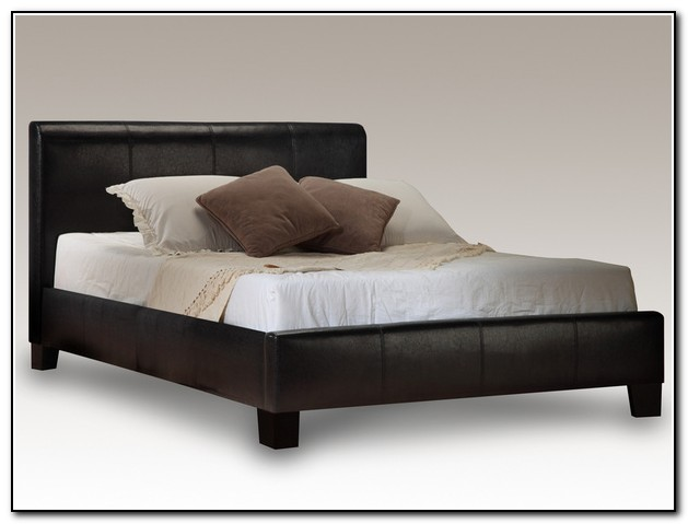 Leather Bed Frame King Size