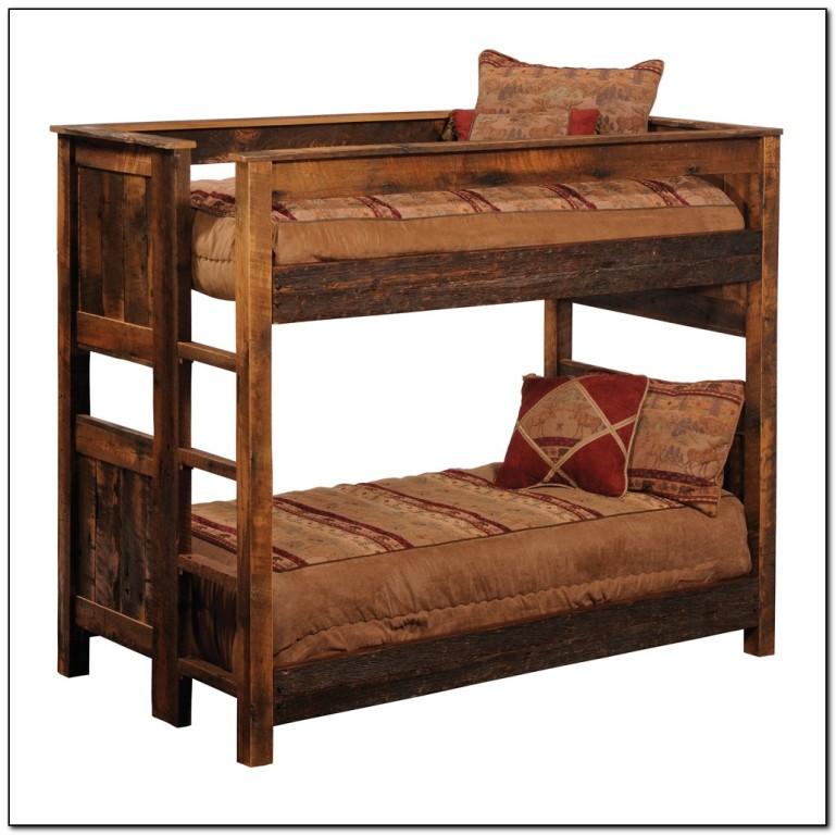 Log Bunk Beds Mn