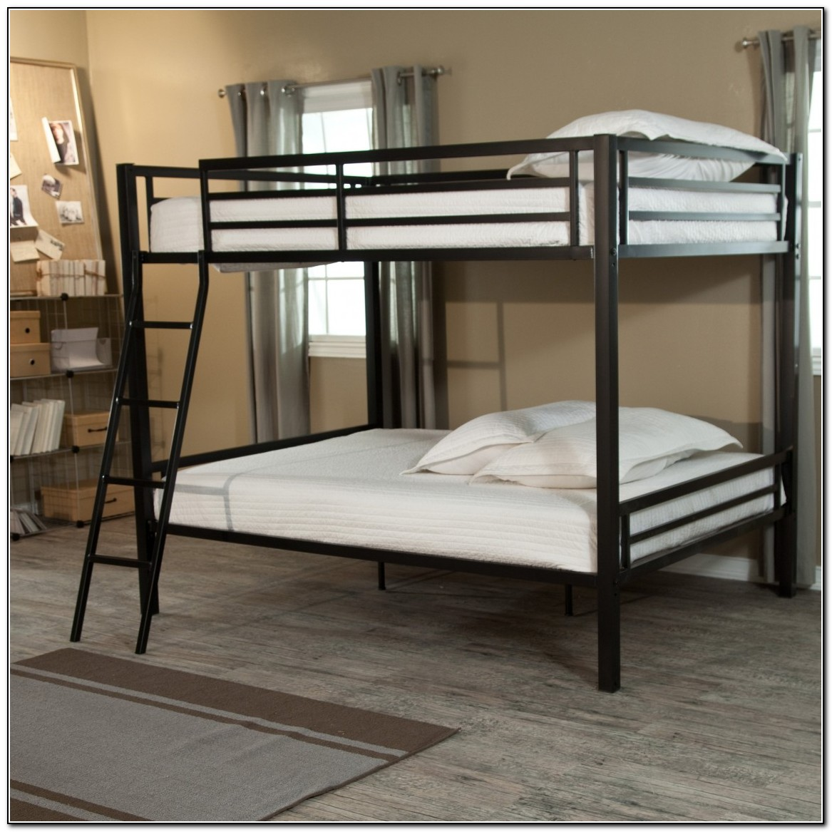 Metal Black Bunk Beds