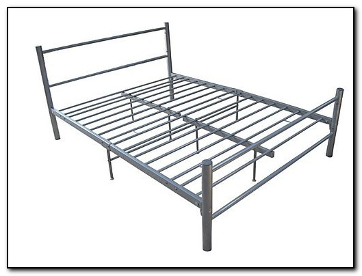 Metal Frame Bed Queen