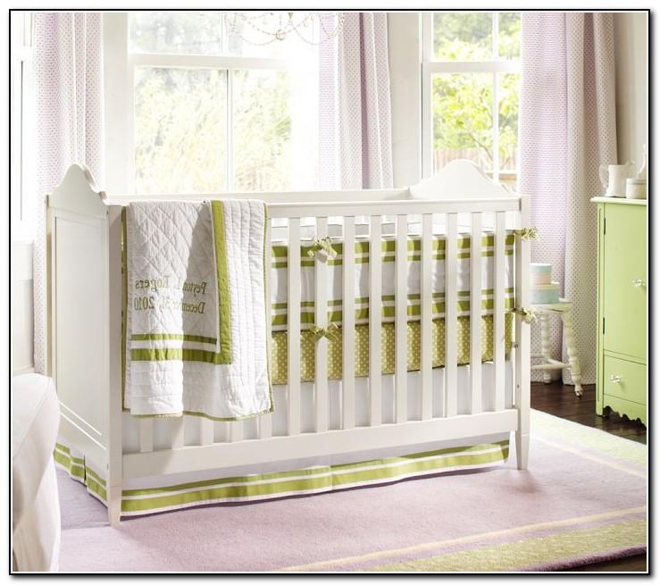 Modern Neutral Crib Bedding
