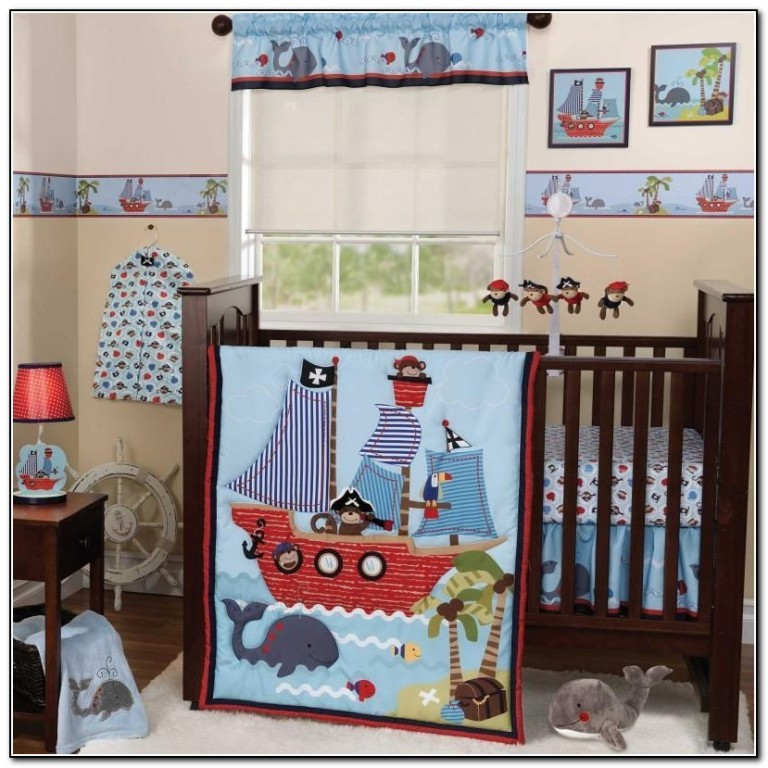 Nautical Crib Bedding For Boys