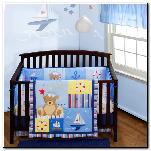 Nautical Crib Bedding Sets For Boys