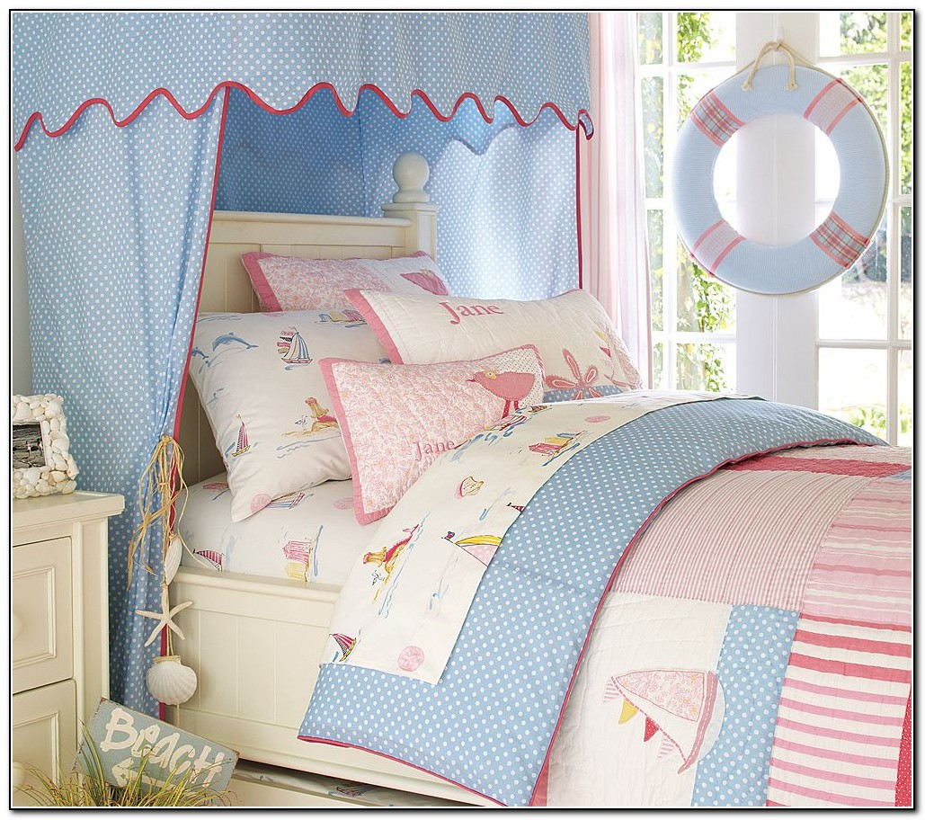 Nautical Girl Baby Bedding