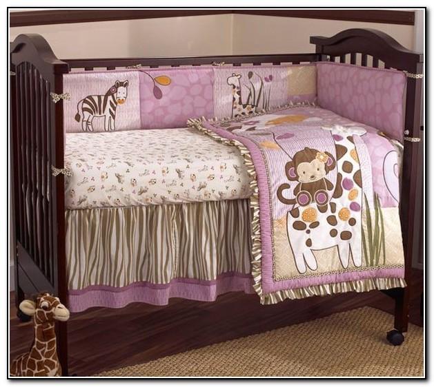 Purple Girl Baby Bedding