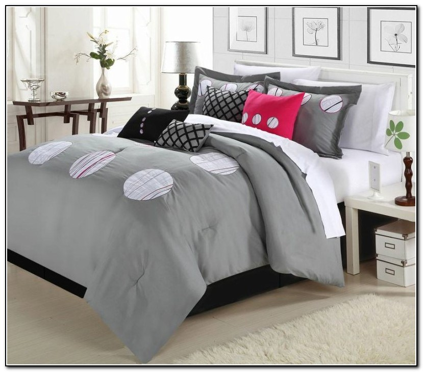 Red And Gray Bedding Sets