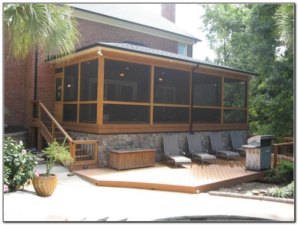 Screen Porch Ideas Pinterest