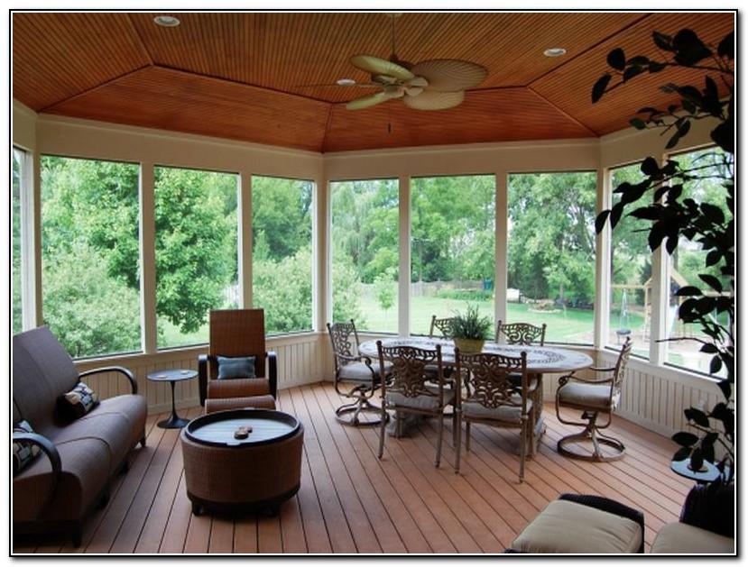 Screened In Porch Design Ideas