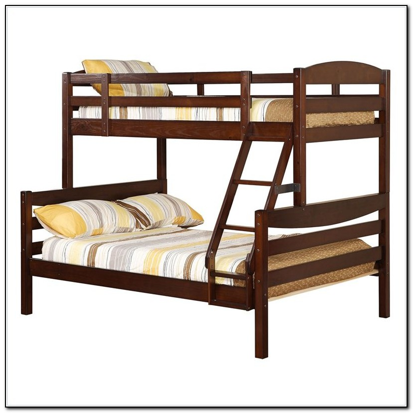 Solid Wood Bunk Beds Twin Over Full