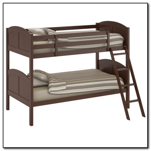 Solid Wood Bunk Beds With Ladder
