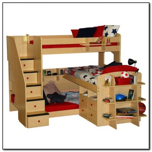 Twin Loft Beds With Stairs