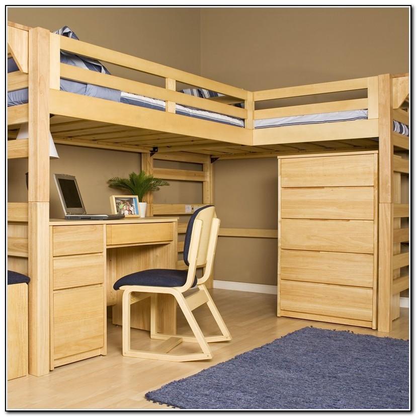 Wood Loft Bed Plans