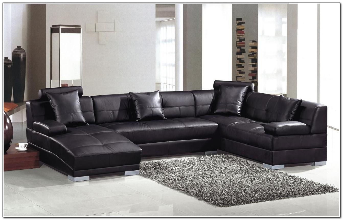 Black Leather Sofa Room Ideas
