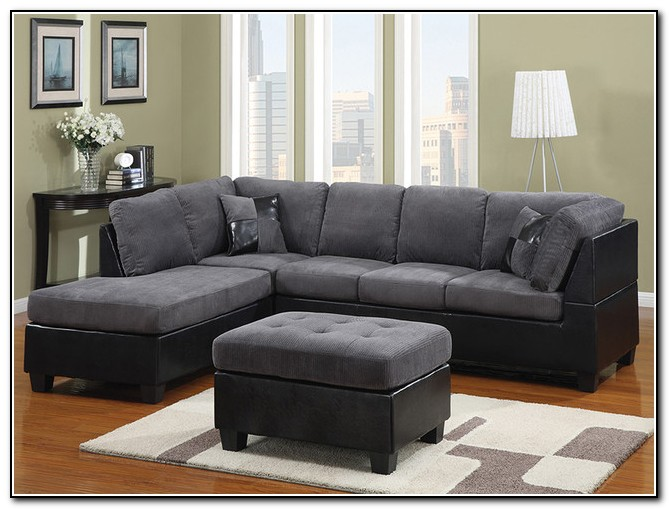 Dark Gray Sectional Sofa
