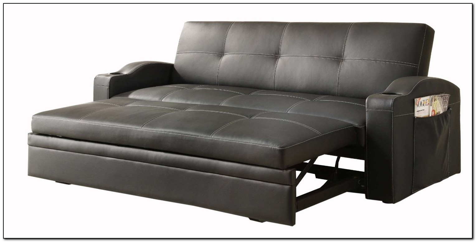 Grey Pull Out Sofa Bed