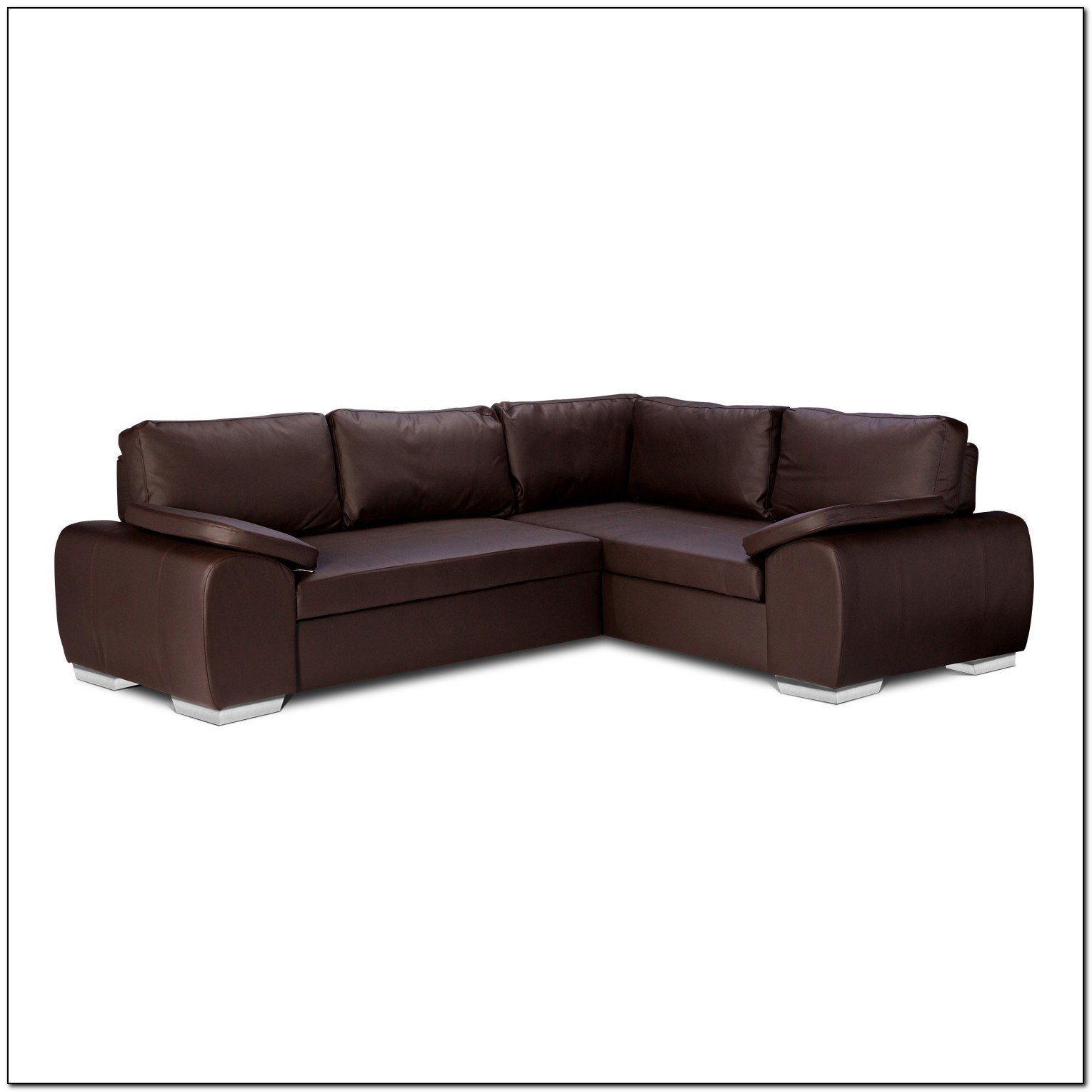 Leather Sofa Bed Corner