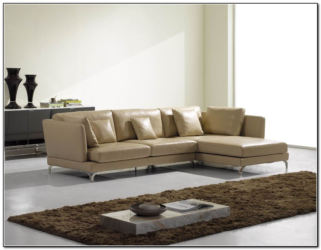 Modern Sofa Bed Leather