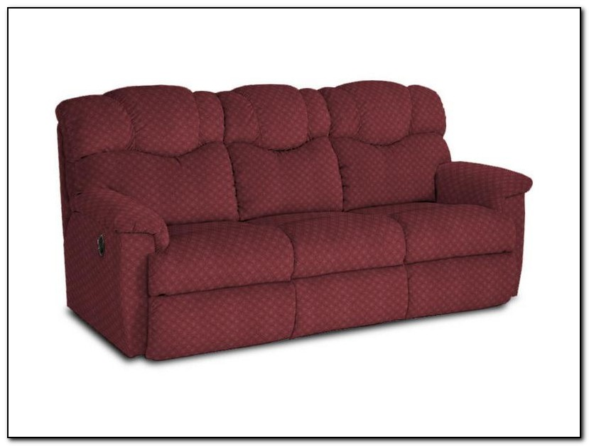 Red Lazy Boy Sofa
