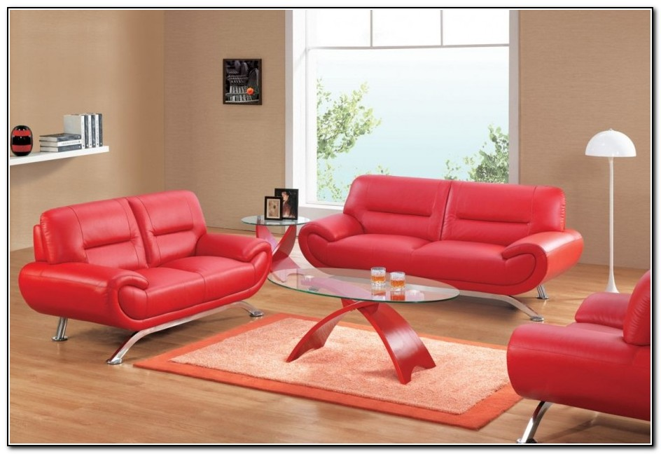 Red Leather Sofa Ikea