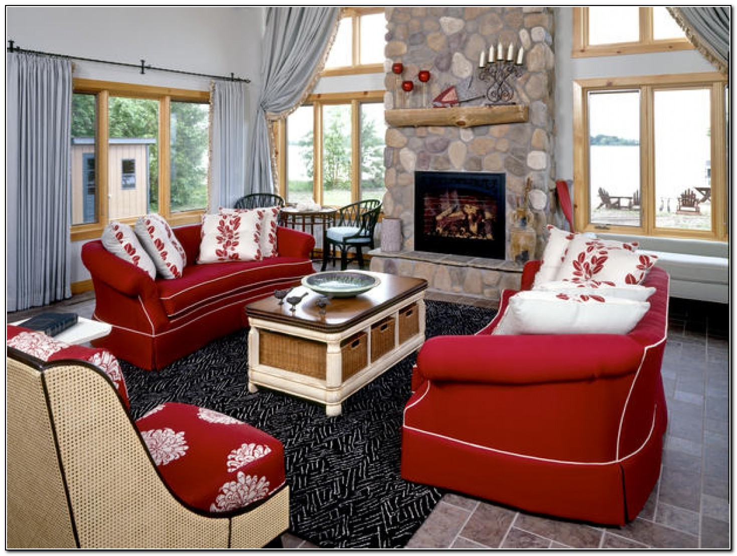 Red Leather Sofa Uk
